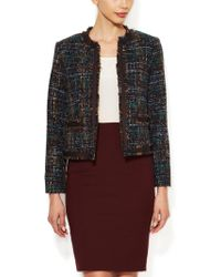 Drew - Tweed Fringed Jacket - Lyst