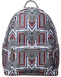 MCM - Stark Medium Visetos Backpack - Lyst
