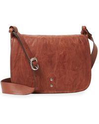 Frye - Leather Messenger Bag - Lyst