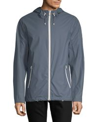 Cole Haan - Lined Hooded Jacket - Lyst