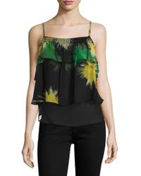Tracy Reese - Flounce Cami Top - Lyst