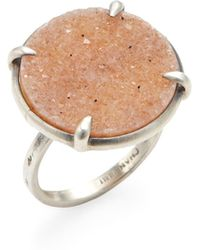 Chan Luu | Agate Disc Statement Ring | Lyst
