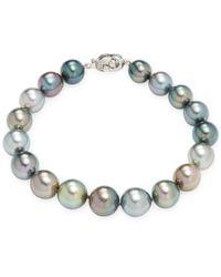 Tara Pearls - 14k Gold Tahitian & Pearl Bracelet - Lyst