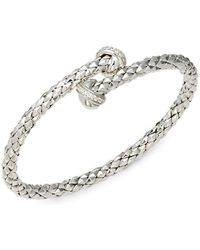 Chimento - Diamond & 18k White Gold Bracelet - Lyst