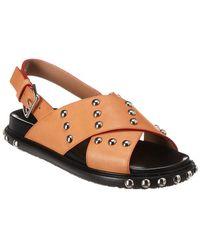 Marni Studded Cross Sandals