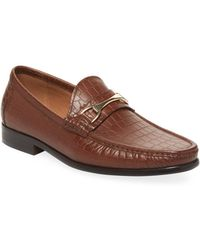 Saks Fifth Avenue | Donatello Leather Loafers | Lyst