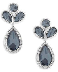 Ippolita - Lollipop Multi-stone And Sterling Silver Drop Earrings - Lyst