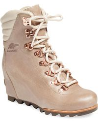 Sorel - Conquest Wedge Boot - Lyst
