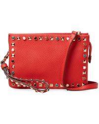 Vince Camuto - Tysa Leather Crossbody Bag - Lyst