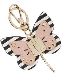 Furla - Allegra Butterfly Leather Keyring - Lyst
