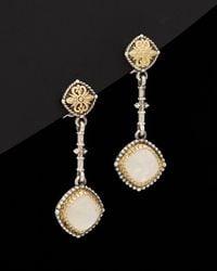Konstantino - Erato 18k & Silver 3.00 Ct. Tw. Labradorite Earrings - Lyst