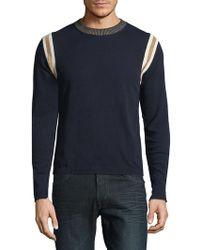 Roberto Cavalli - Maglia Girocollo Manica Cotton Sweatshirt - Lyst