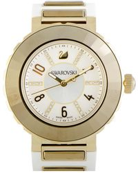 Swarovski Rubber Watch - Metallic