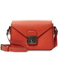 Longchamp - Le Pliage Heritage Leather Small Crossbody - Lyst