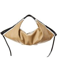 3.1 Phillip Lim Luna Mini Slouchy Leather Hobo - Brown