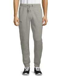 Superdry - Moody Slim Heathered Jogger Pants - Lyst