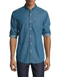 Shades of Grey by Micah Cohen - Standard Button-down Sportshirt - Lyst