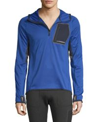 J.Lindeberg - M Running Hoodie Elements Jersey - Lyst