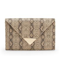 Saks Fifth Avenue - Envelope Clutch - Lyst
