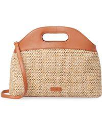 Steven Alan - Leather Basket-weave Tote - Lyst