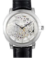 Harry Winston - Men's Leather Watch - Lyst