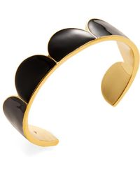 Kate Spade - Taking Shapes Cuff Bracelet - Lyst