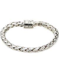John Hardy - Classic Sterling Silver Chain Bracelet - Lyst