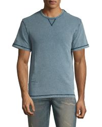Faherty Brand - Cotton Short Sleeve Sweatshirt - Lyst