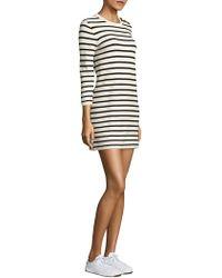 Theory - Lemdrella Prosecco Striped Shift Dress - Lyst