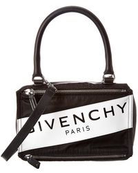 Givenchy - Pandora Band Small Nylon & Leather Shoulder Bag - Lyst