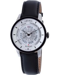 Gevril Watches - Gevril Mens Columbus Circle Stainless Steel Watch, 45mm - Lyst