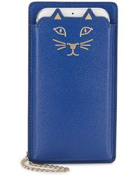 Charlotte Olympia | Feline Iphone 6 Leather Case | Lyst