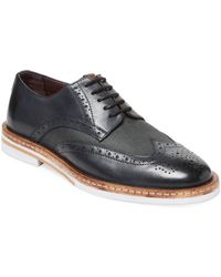 Ben Sherman - Julius Wingtip Leather Derby Shoe - Lyst