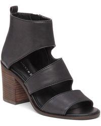 Lucky Brand - Abott Leather Strap Sandals - Lyst