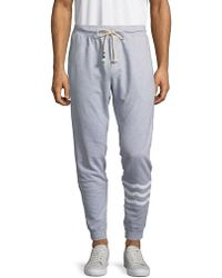 Sol Angeles - Drawstring Cotton Trousers - Lyst