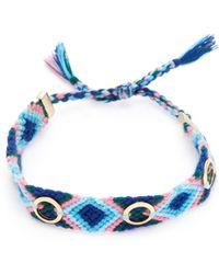 Rebecca Minkoff - Grommet Studded Friendship Bracelet - Lyst