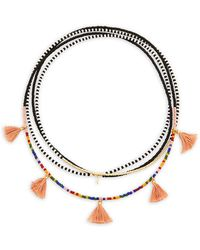 Shashi - Delilah Multi-layered Beaded Necklace - Lyst