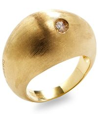 Marco Bicego - Confetti Eclissi Yellow Gold & Diamond Ring - Lyst