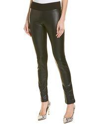 21516ef28a9b5 Club Monaco Sam Leather Pant in Black - Lyst