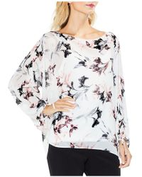 Vince Camuto - Lily Melody Blosuson Sleeve Top - Lyst