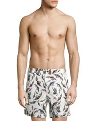 La Perla - Printed Swimming Trunks - Lyst