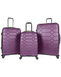 Aimee Kestenberg - Diamond Anaconda 3pc Luggage Set - Lyst
