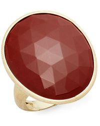Marco Bicego - Red Jasper & 18k Gold Ring - Lyst