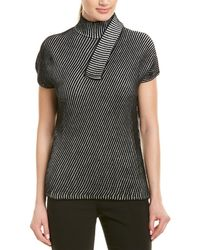 Narciso Rodriguez - Narciso Rodriguez Mock Sweater - Lyst