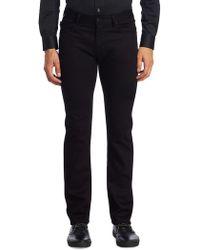 Giorgio Armani - Aj Slim-fit Dark Jeans - Lyst