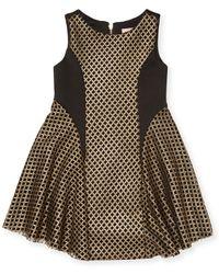 Zoe - Diamonds Crewneck Dress - Lyst
