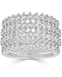 Saks Fifth Avenue | Ideal-cut Diamond And 14k White Gold Ring | Lyst