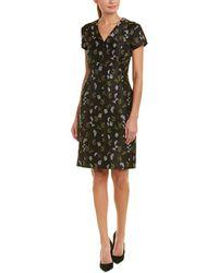 ESCADA - Sheath Silk-blend Dress - Lyst
