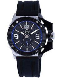 Gv2 - Grande Black Dial Watch, 42mm - Lyst