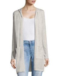 Saks Fifth Avenue - Classic Hooded Duster - Lyst